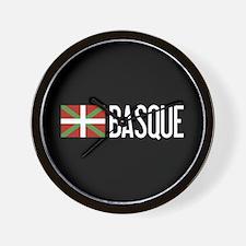 Basque Country: Basque Flag & Basque Wall Clock