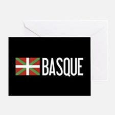 Basque Country: Basque Flag & Basque Greeting Card