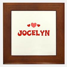 Jocelyn Framed Tile