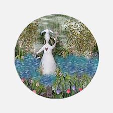 """River Goddess 3.5"""" Button"""