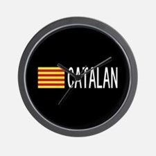 Catalunya: Catalan Flag & Catalan Wall Clock
