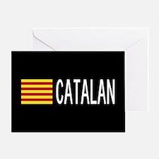 Catalunya: Catalan Flag & Catalan Greeting Card