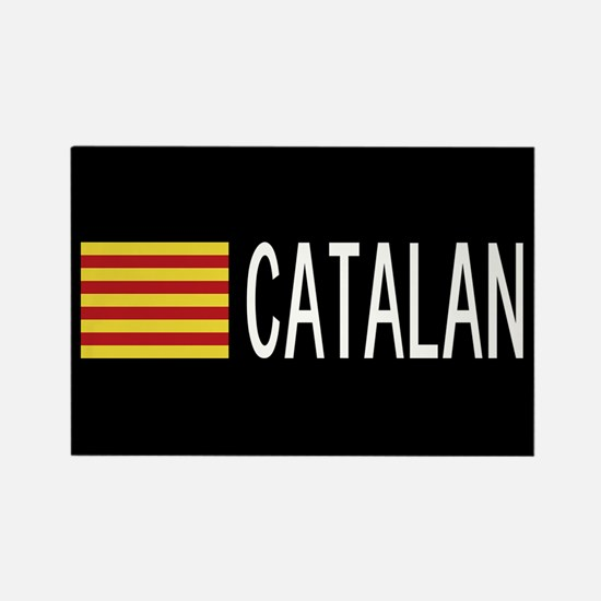 Catalunya: Catalan Flag & Catalan Rectangle Magnet