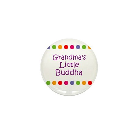 Grandma's Little Buddha Mini Button (10 pack)