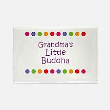 Grandma's Little Buddha Rectangle Magnet