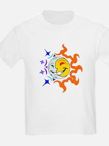 Sunmoon cool warm T-Shirt