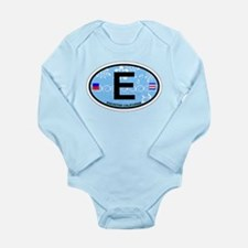 Encinitas - California Long Sleeve Infant Bodysuit