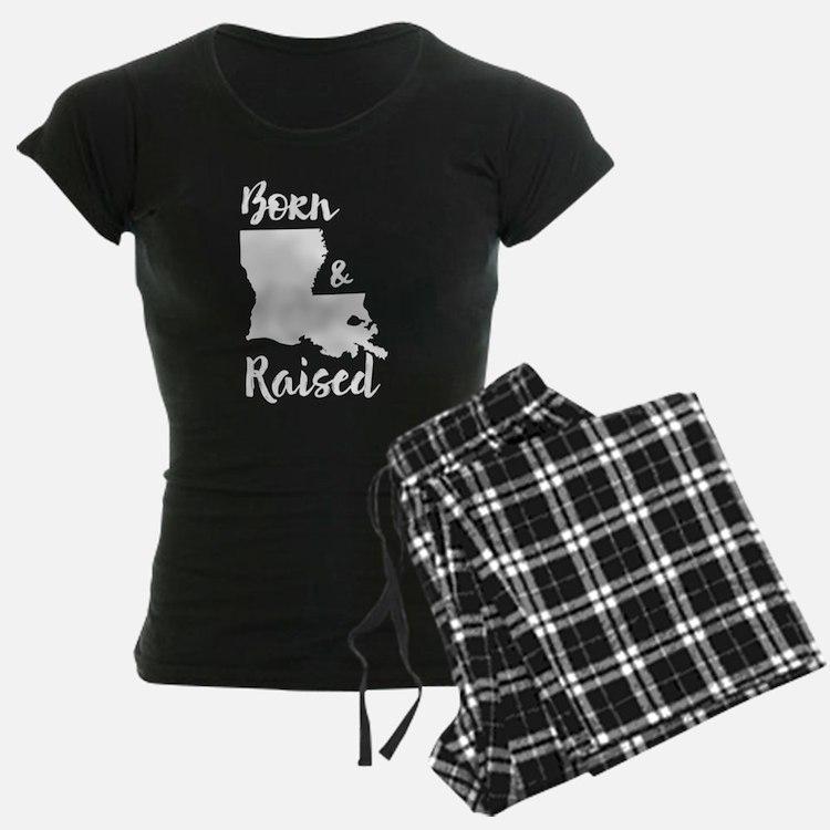 Louisiana - Born & Raised Pajamas