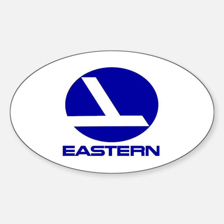 Cute Airline Sticker (Oval)