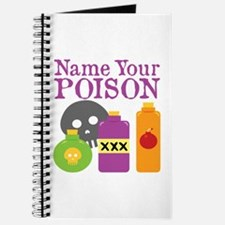 Funny Name Your Poison Drinking Journal