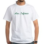 Mrs. Tufares White T-Shirt