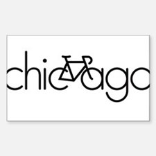 Bike Chicago Decal
