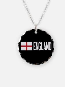 England: English Flag & Engl Necklace