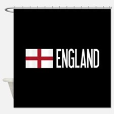 England: English Flag & England Shower Curtain