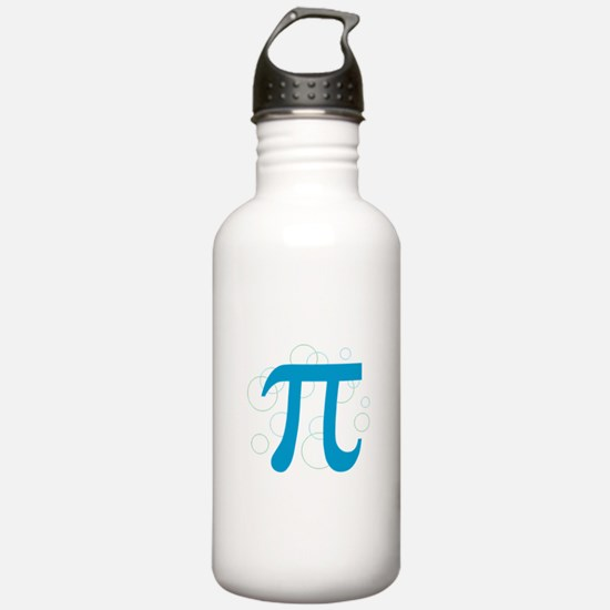 Pi Circles Water Bottle