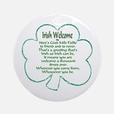 Irish Keepsake (Round)