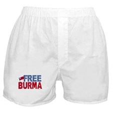 Free Burma 1.1 Boxer Shorts