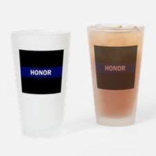 Cool Respect white Drinking Glass