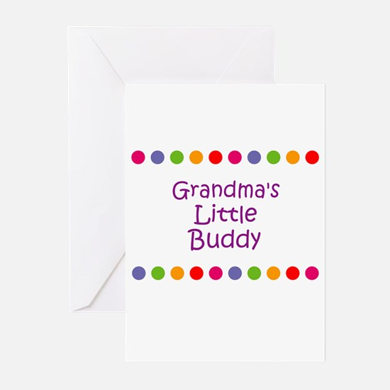Grandma's Little Buddy Greeting Cards (Pk of 10)
