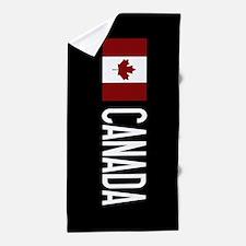 Canada: Canadian Flag & Canada Beach Towel