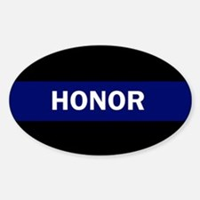 HONOR BLUE Decal