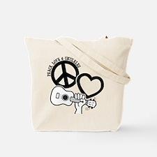 UKULELES (both sides) Tote Bag