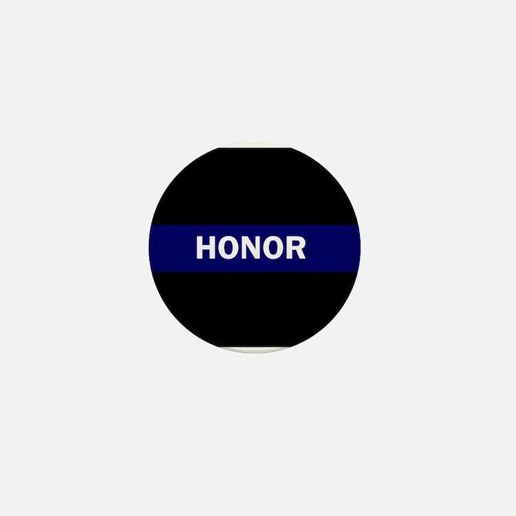 HONOR BLUE Mini Button