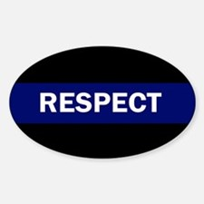 RESPECT BLUE Decal