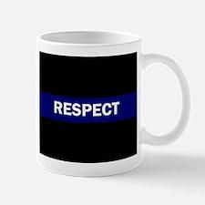 RESPECT BLUE Mugs