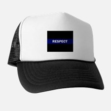 RESPECT BLUE Trucker Hat