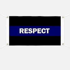 RESPECT BLUE Banner