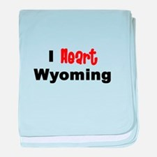 Wyoming.png baby blanket