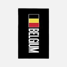 Belgium: Belgian Flag & Belgium Area Rug