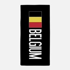 Belgium: Belgian Flag & Belgium Beach Towel