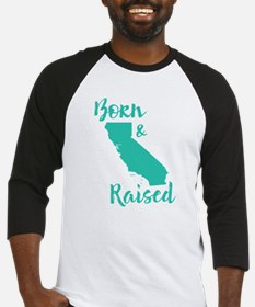 California - Born & Raised Baseball Jersey