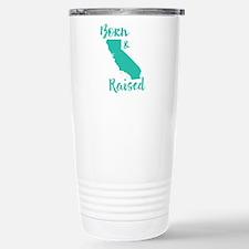 California - Born & Rai Travel Mug