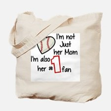 Cute Softball mom Tote Bag