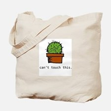 can't touch this tote