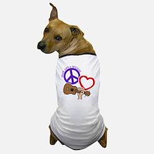 P, L, UKULELES Dog T-Shirt