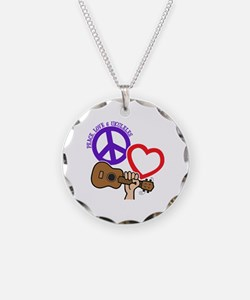P, L, UKULELES Necklace