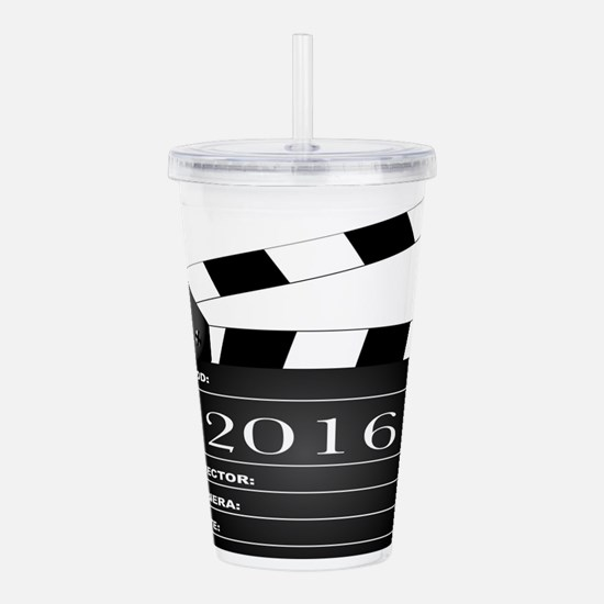 2016 Movie Clapperboar Acrylic Double-wall Tumbler
