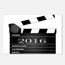 2016 Movie Clapperboard Postcards (Package of 8)