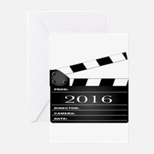2016 Movie Clapperboard Greeting Cards