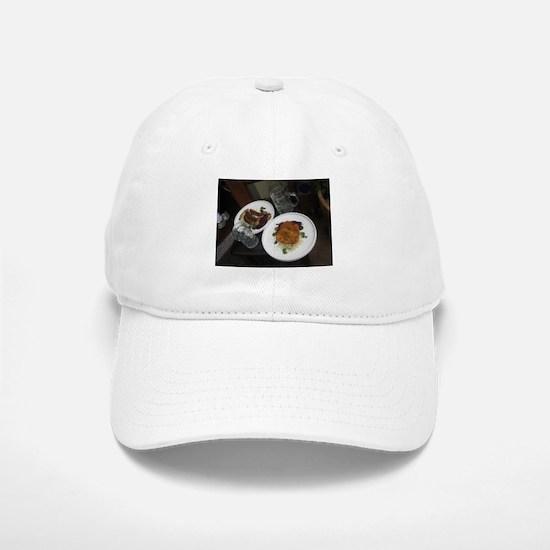 Oktoberfest meal with stein Baseball Baseball Cap