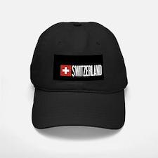 Switzerland: Swiss Flag & Switzerland Baseball Hat