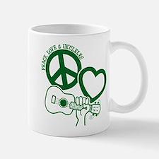 P, L, UKULELES Mug