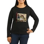 The Three Bears Women's Long Sleeve Dark T-Shirt