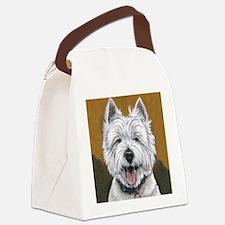 I'm Baddddd! Canvas Lunch Bag