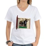 The Three Blind Mice Women's V-Neck T-Shirt