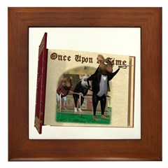 The Three Blind Mice Framed Tile